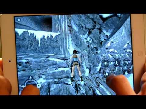 Tomb Raider iOS - iPad mini iPhone 5s  App Review