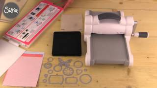 Kit de démarrage Big Shot Sizzix