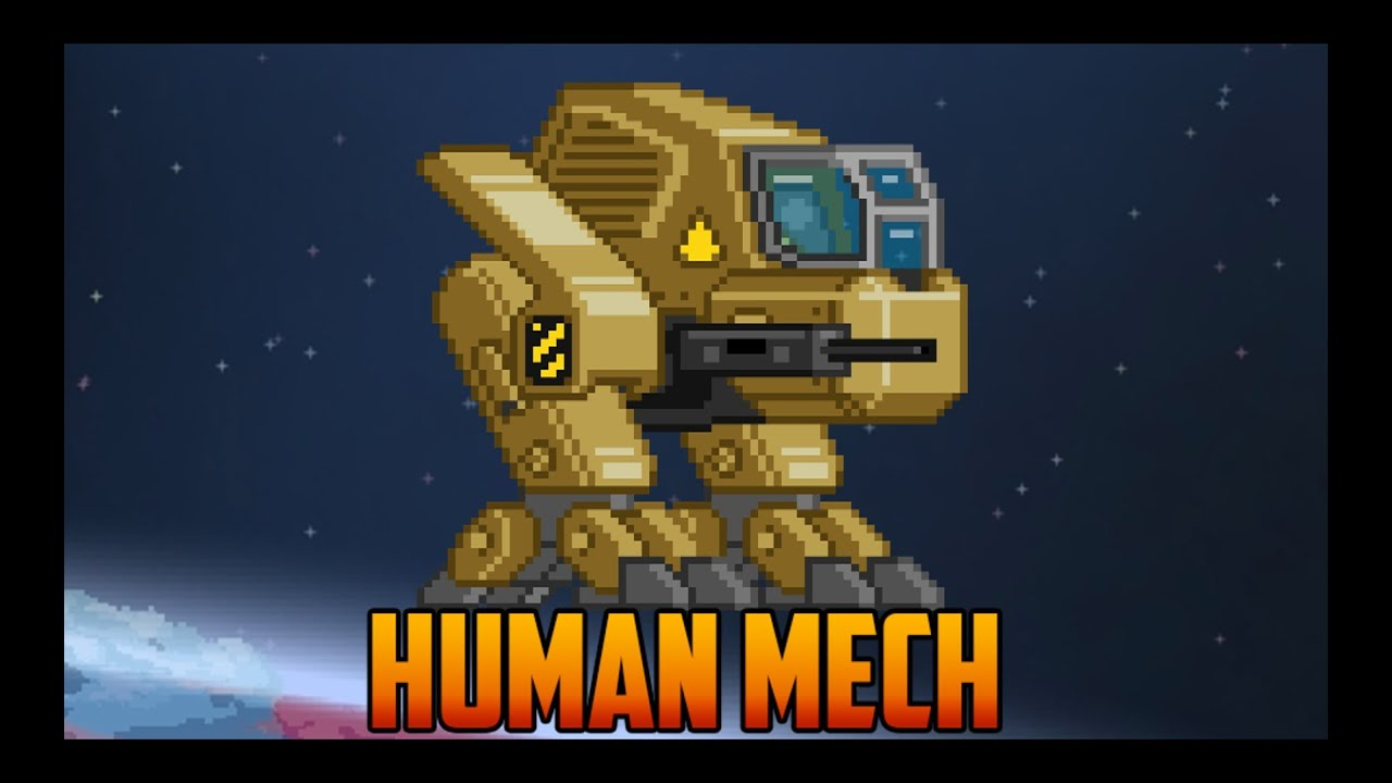 Human Starbound Starbound Human Mech With