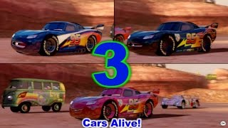 Cars 2: The video Game - 3 Lightning McQueen`s race on Canyon Run