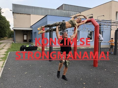 Konec strongmanů - Sváťa a Anet GYM4FUN 4K