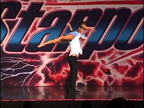 Amazing Boy  Girl Dance Duet!!! Don't Say A Word - Brittany Hogan & Akira Uchida video