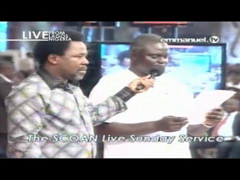 Scoan 14 09 14: Sunday Live Service tb Joshua Talks About Accident At Scoan. Emmanuel Tv video