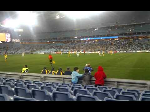 Troy Hearfield's goal against Celtic at ANZ stadium on the 2nd of July 2011.