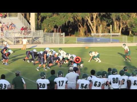 Justin Vertino #35 - Tampa Catholic High School - 12th Grade Early Season Highlights