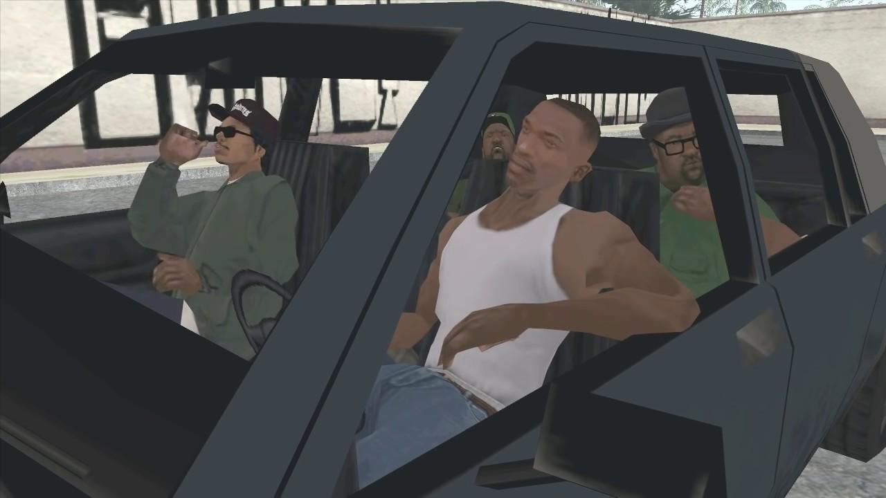 Прохождение GTA SA - 5: Забегаловка (Рус озвучка) FunnyDog.TV