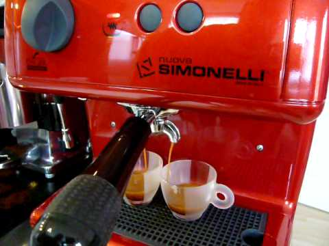 Double shot with Nuova Simonelli Oscar