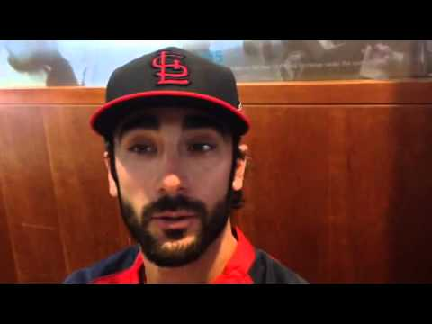 Matt Carpenter at World Series media day