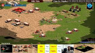 AoE 22 Random BiBi, Đức Anh vs Chim Sẻ, ChipBoy Ngày 26-9-2018