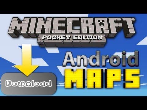 Android! Minecraft PE Welten OHNE Root downloaden! [Deutsch/HD]