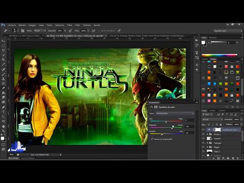 Speed Art - Teenage Mutant Ninja Turtles (Las Tortugas Ninja) 2014 HD By ArenasDesigner
