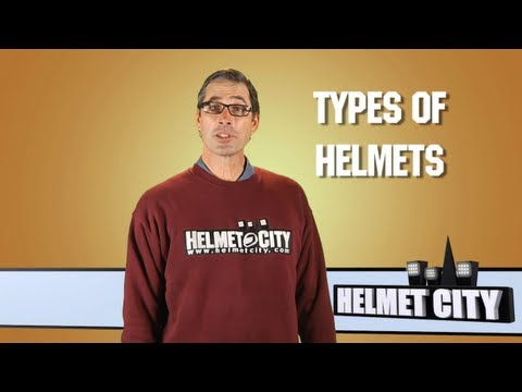 Types of Motorcycle Helmets | Helmet City