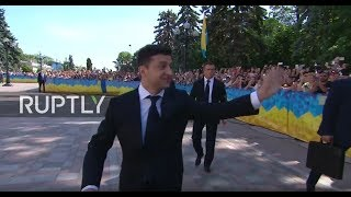 LIVE: Zelensky's inauguration takes place at Ukrainian Parliament (ENG)