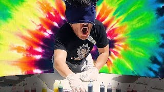Markiplier Makes: TIE DYE (blindfolded)