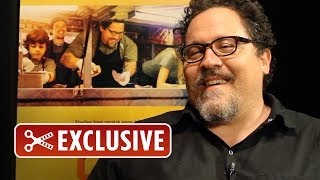 EXCLUSIVE Rapid Fire Interview: Jon Favreau - Chef (2014) HD