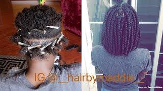 HOW TO: Bob box braids