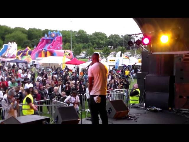 KC Da Rookee - Cosmic Rain (Live Acapella Nottingham Carnival 2013)