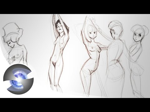 Figure Drawing Demo ( Female )