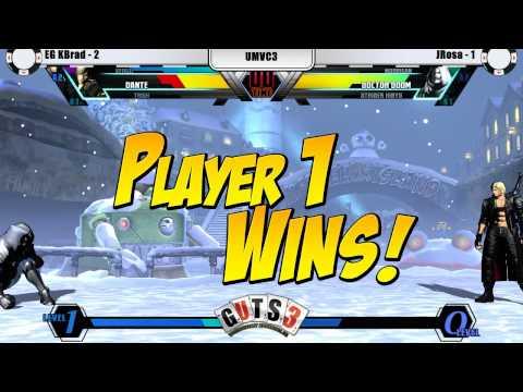 Ultimate Marvel vs. Capcom 3 @ GUTS3 - Finals