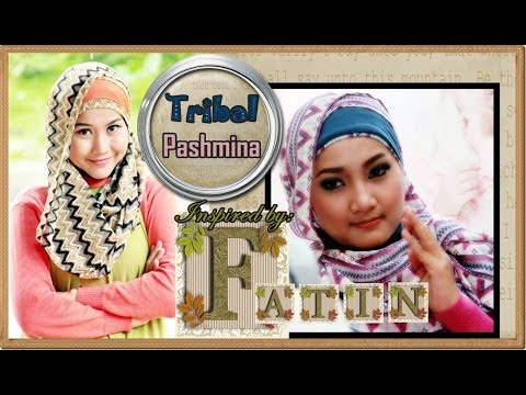 Jilbab Modern Pashmina Tribal Inspired by Fatin Shidqia - Part #30