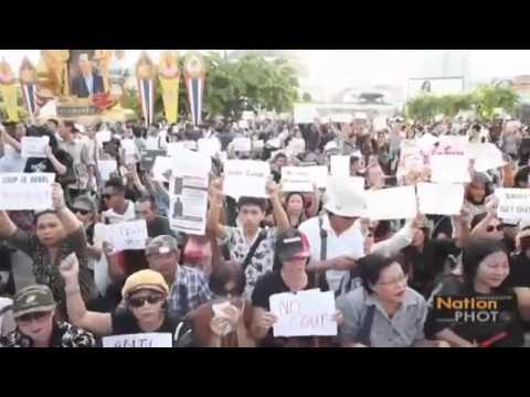รัฐประหาร Thailand Coup Clashes With The Military NO COUP