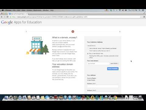 Sign Up for a Google Apps for Education Account