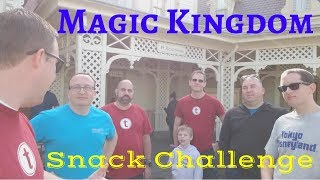 Magic Kingdom Dining Plan Snack Challenge