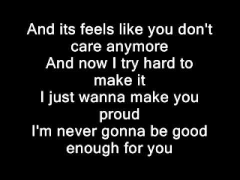 Simple Plan - Perfect (lyrics) video