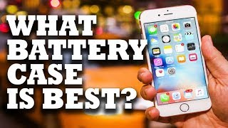 iPhone 6/6s Battery Cases! Review & Comparison, MbuyNow vs Apple Extended Battery
