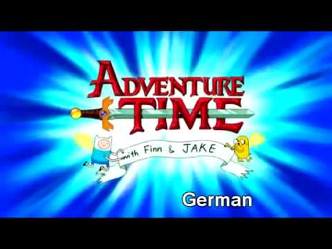 Multilenguaje: Adventure Time Intro.