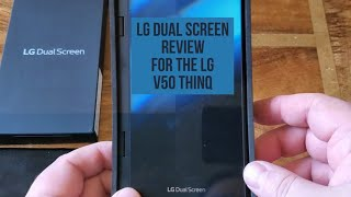 LG Dual Screen Review for the LG V50 Thinq