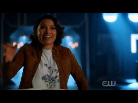 The Flash 5x02 All Barry and Nora Scenes (CSI intern, Mentoring, and Fight scene)