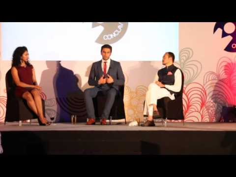 Ranveer Singh speaking at UNYCC 2014