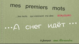Урок французского языка. Il neige! А снег идет!