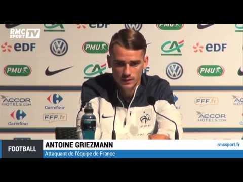 Football / Equipe de France / Griezmann :