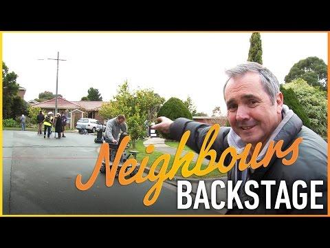 Neighbours Backstage - Alan Fletcher (Karl Kennedy)