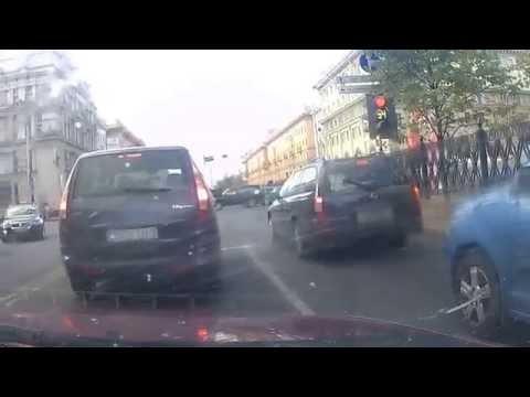 Driving in Minsk, Belarus