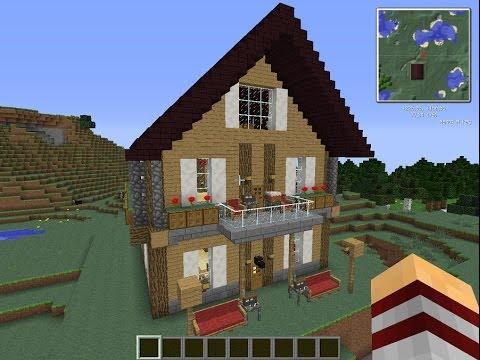 как построить красивый дом майнкрафт 3