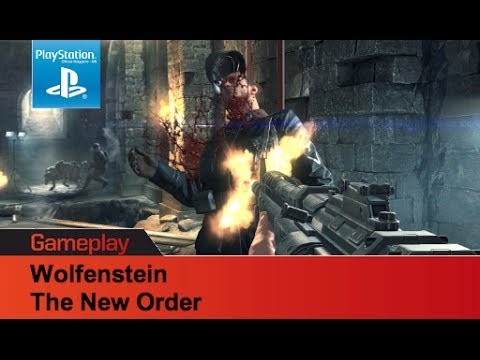 Wolfenstein The New Order PS4 - new gameplay