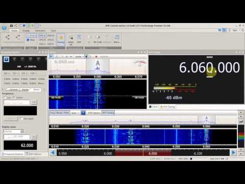 First impression  SDR Console version 2.0
