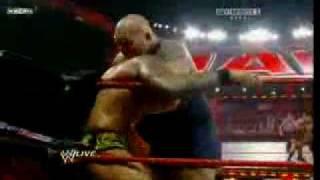 Raw 10 08 09 7 15 randy Orton vs Big Show