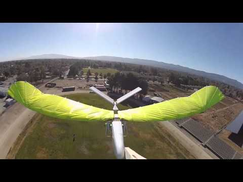 GoPro mounted on my RC ornithopter