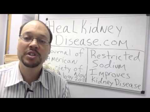 How To Stop Kidney Disease Damage With Nutrition and Diet Tip