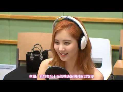【中字】150713  Kiss the Radio  少女时代  Chinese sub
