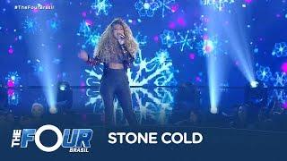 Quinara canta sucesso de Demi Lovato e surpreende plateia do The Four Brasil