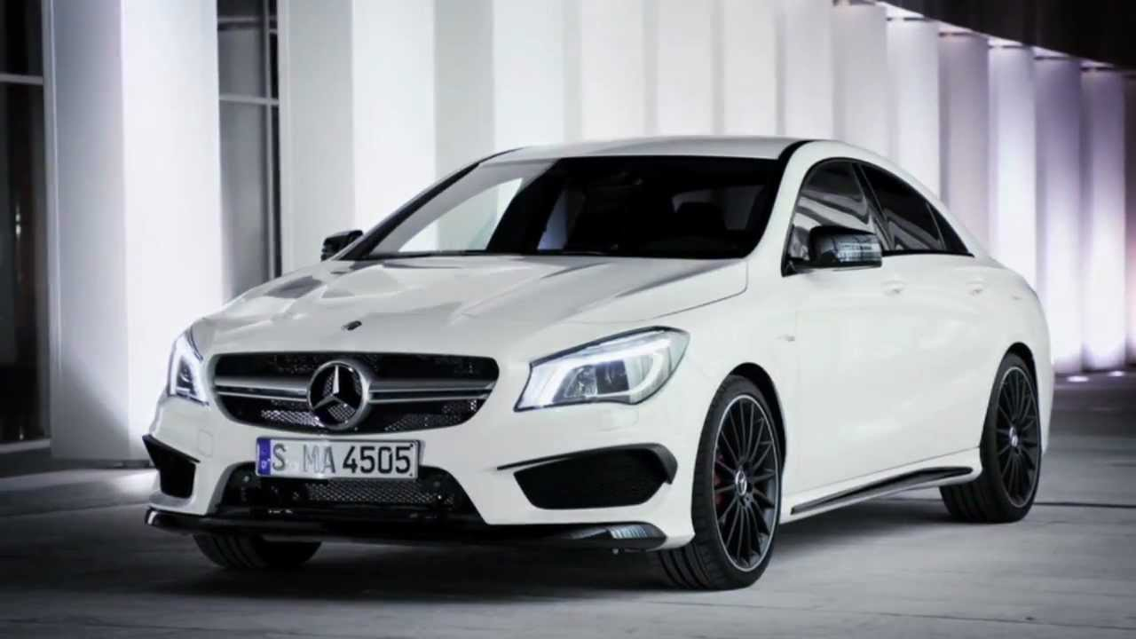 2014 cla45 amg premiere all new cla 4 door coupe. Black Bedroom Furniture Sets. Home Design Ideas