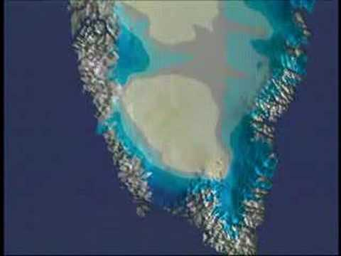 NASA: Thinning of Greenland`s Ice Cap - Animation (2005)