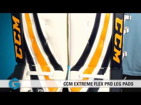 CCM Extreme Flex Pro Leg Pads