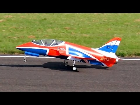 HSD SUPER VIPER RC EDF EPO SCALE MODEL JET DEMO FLIGHT / Jetpower Messe 2015