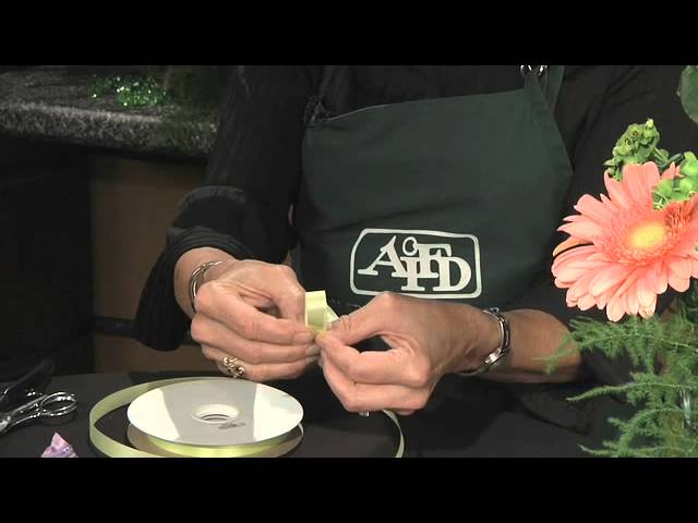 Bow Making - GWC Floral Design with Gail Call AIFD
